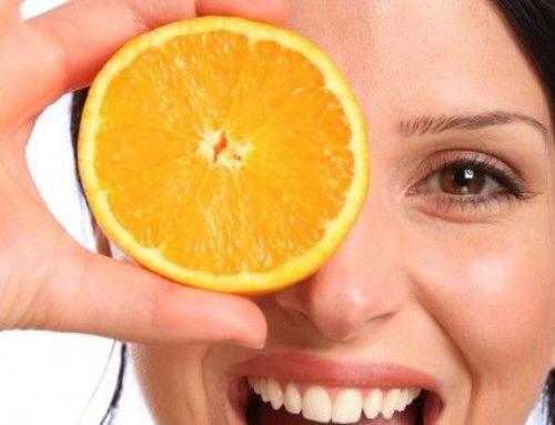 La vitamina c,  l'ingrediente della giovinezza